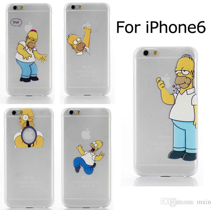 Simpsons Iphone 6 Case Amazon Case For Iphone 4 5 5c 6