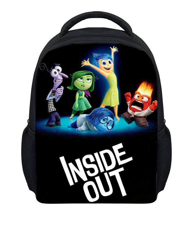 New Cartoon Inside Out Backpack Small Backpack For Toddler Baby ...