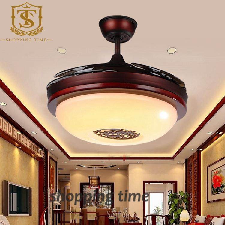 2017 Chinese Style Small 32 Inch Ceiling Fan Light Dining Room
