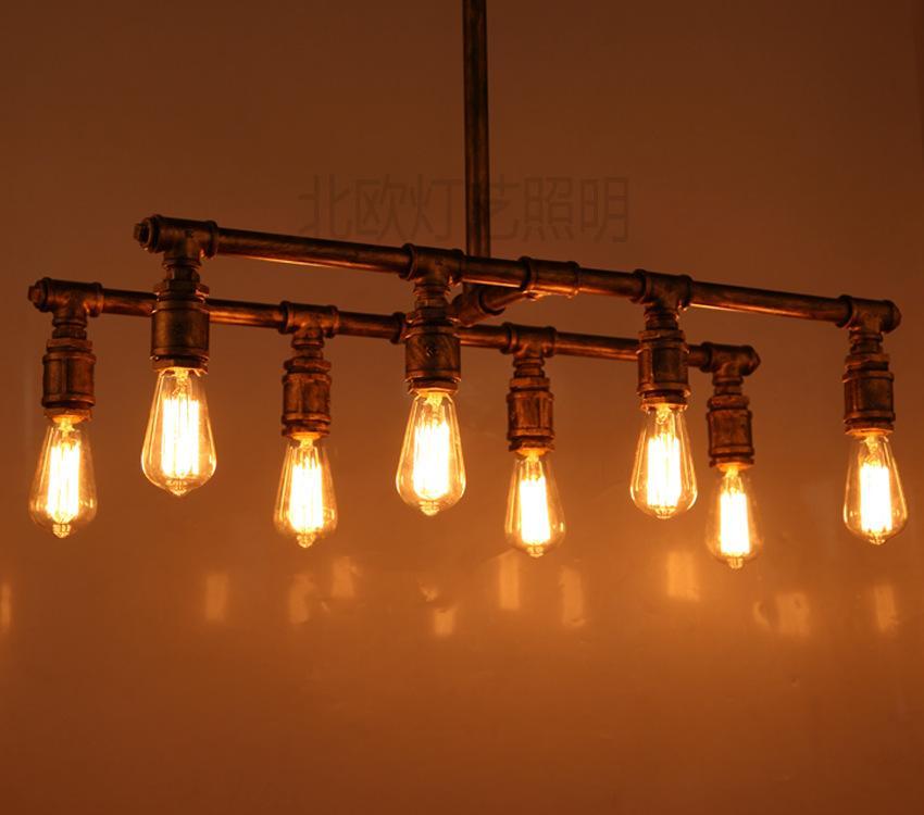 Personalized Retro Rustic Chandelier Chandelier Creative Lighting – Bar Chandelier