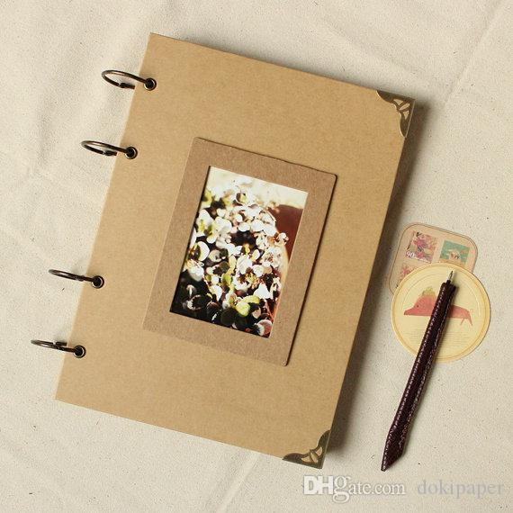 Photo Album Kraft Scrapbook Wedding Guest Book Gift Online With 4152 Piece On Dokipapers Store