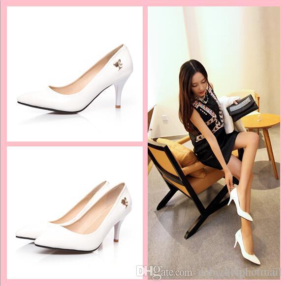 2015 Beauty High Heels Women Lady Urban Style Sexy Derss Shoes