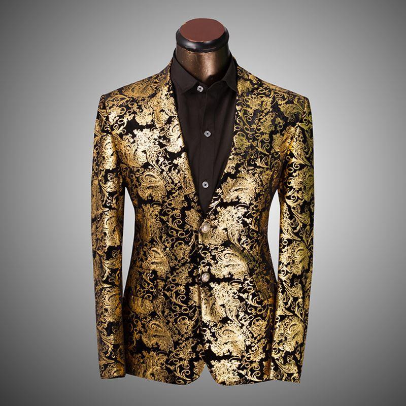 Gold dress jackets