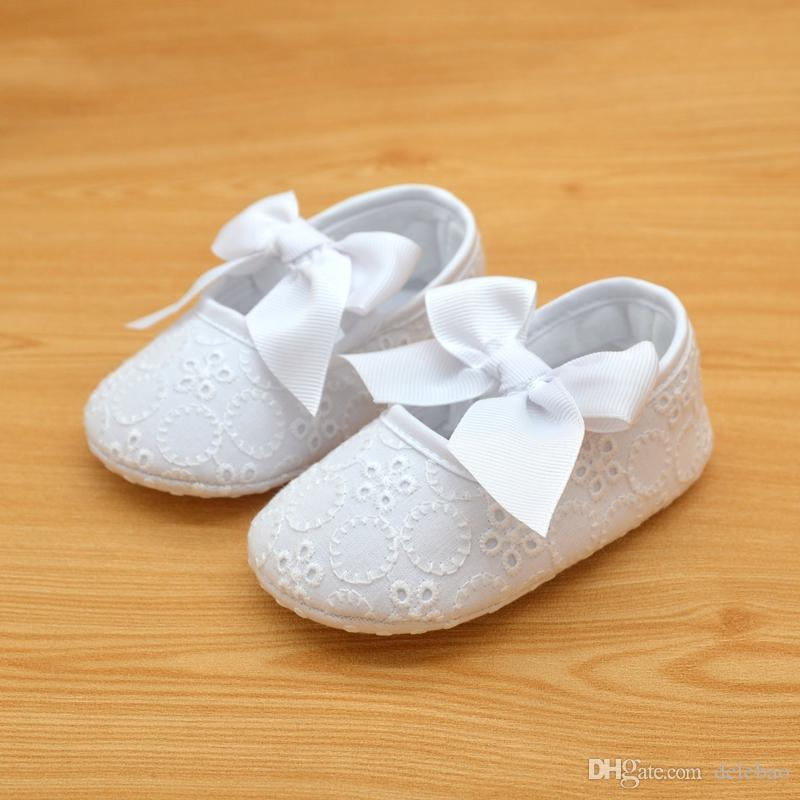Soft Sole Baby Shoes First Walkers pour 0-12 mois fait à la main de haute qualit
