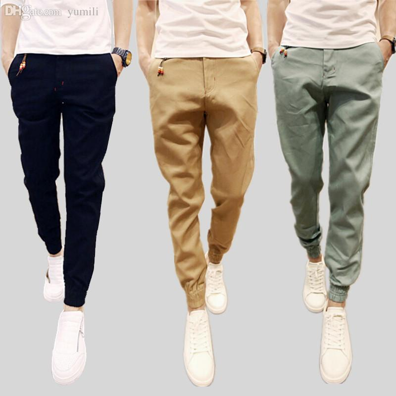 Discount Mens Black Chino Pants | 2017 Mens Black Chino Pants on ...