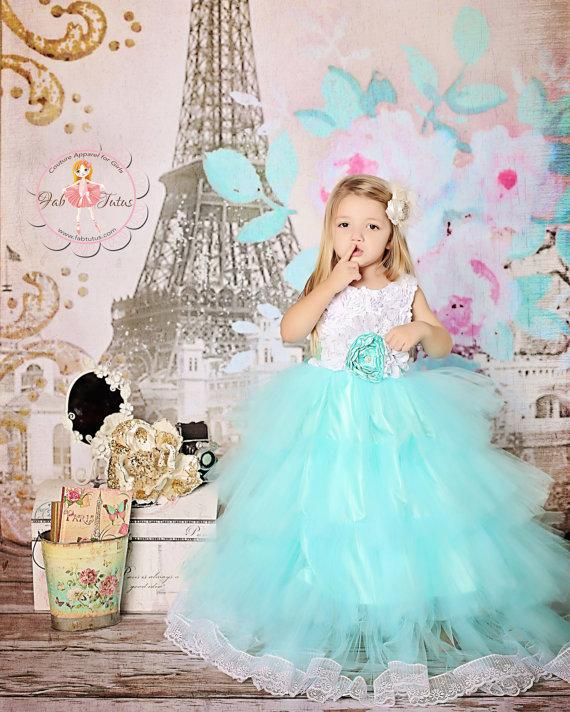 Wonderful Princess Flower Girls Dresses For Weddings With Jewel ...