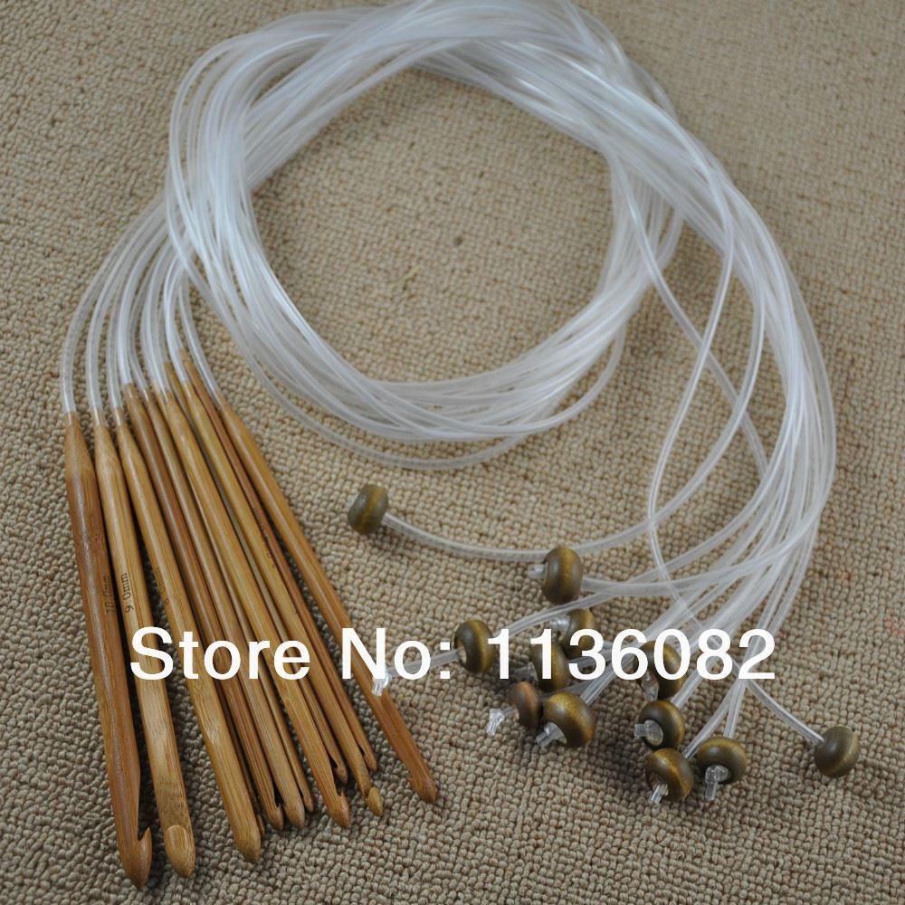 Крючки для тунисского вязания фото