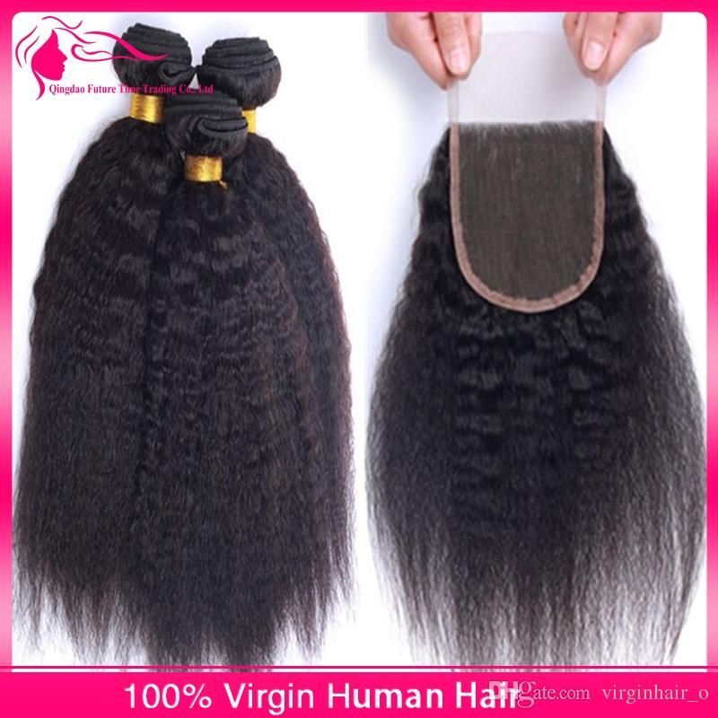 Kinky Straight Hair Weft 28