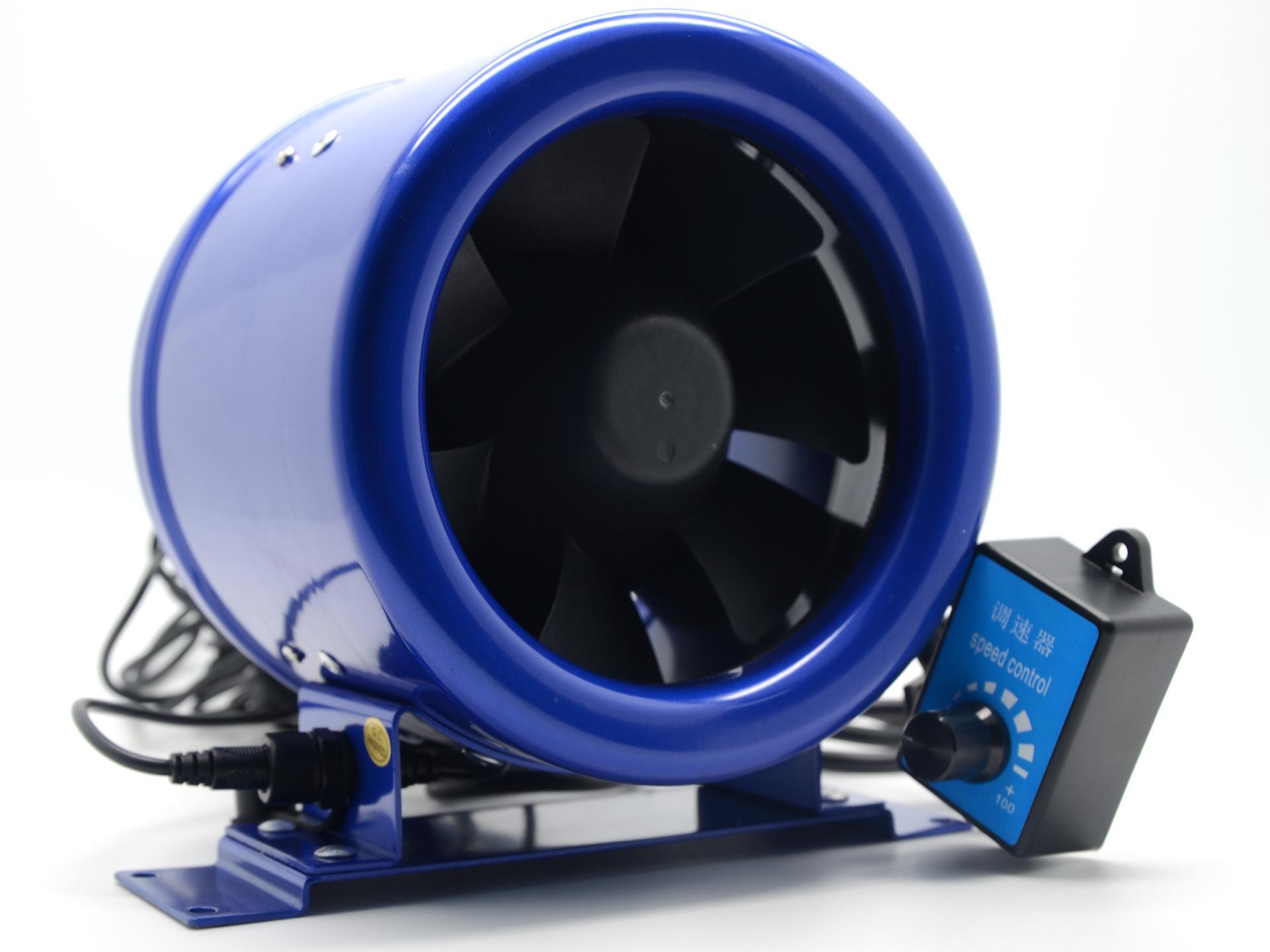 Hyper Fan 6 Inline Duct Booster Fan W/ Speed Controller Exhaust Blower  #245DA7