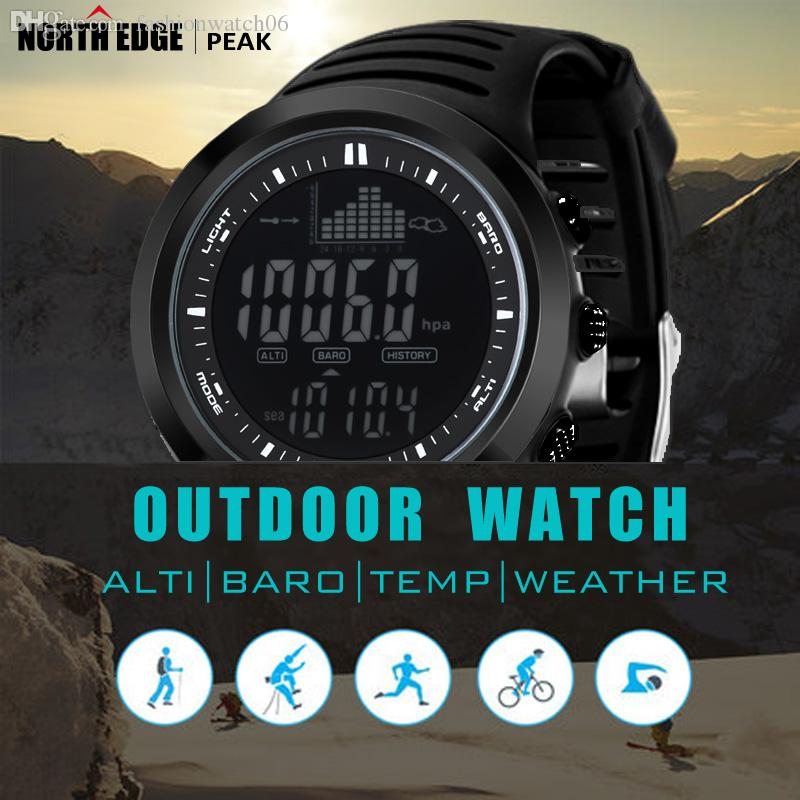 whole northedge digital watches men watch outdoor fishing whole northedge digital watches men watch outdoor fishing electronic altimeter barometer thermometer altitude climbing hiking hours watch watches from