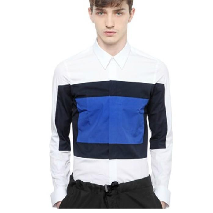 Best new european style clothing designer brand stripe for European mens dress shirts