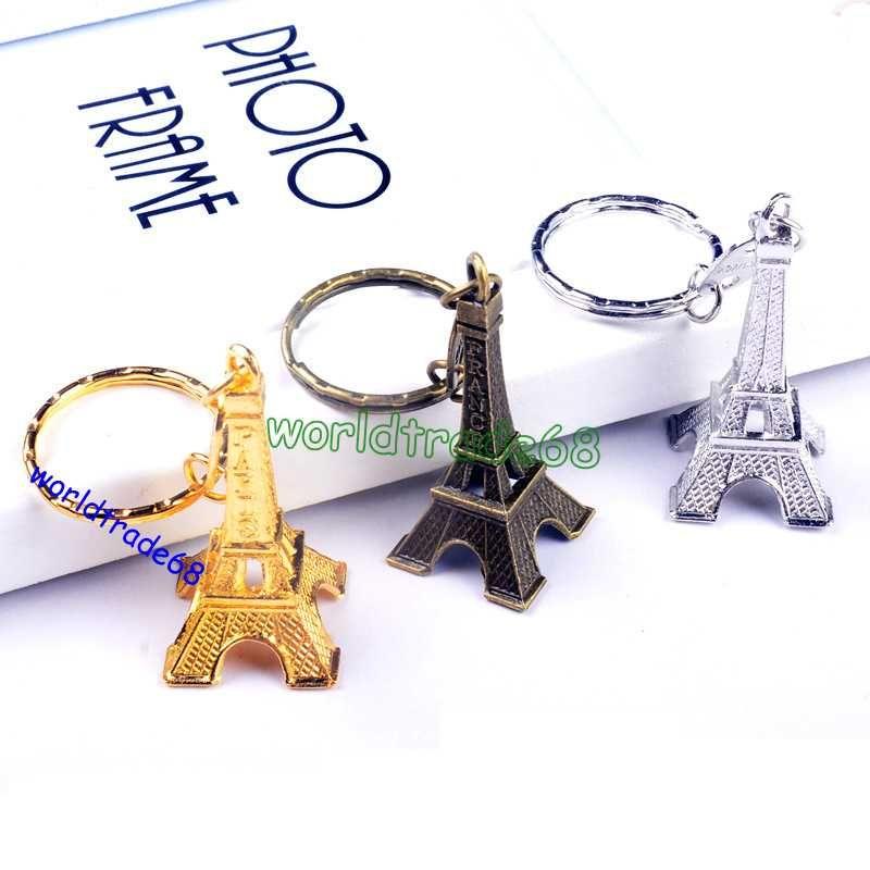 hot sale 3d eiffel tower keychain french france souvenir. Black Bedroom Furniture Sets. Home Design Ideas