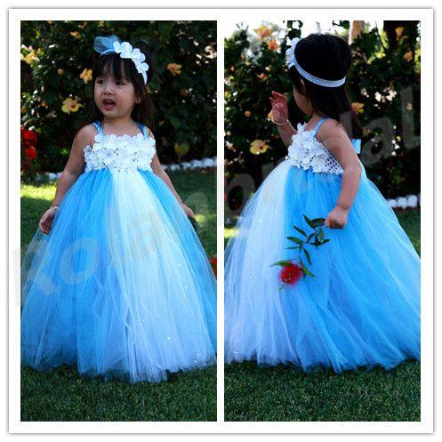 Baby Blue Tutu Dress Baby Tutu Dress Toddler Tutu