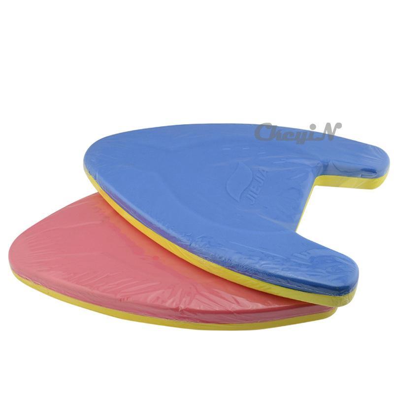Best Jiejia A Shape Swimming Plate Kickboard Water Float Foam Hand Board For Kids Child Adult