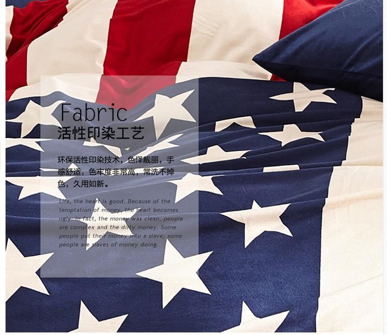 Amerikanische Flagge samt Bettwäsche Tröster set queen-size ...