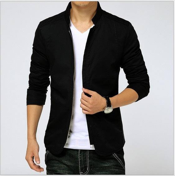 Korea Style Casual Jacket Men Fashion Man'S Cotton Jacket And Coat ...