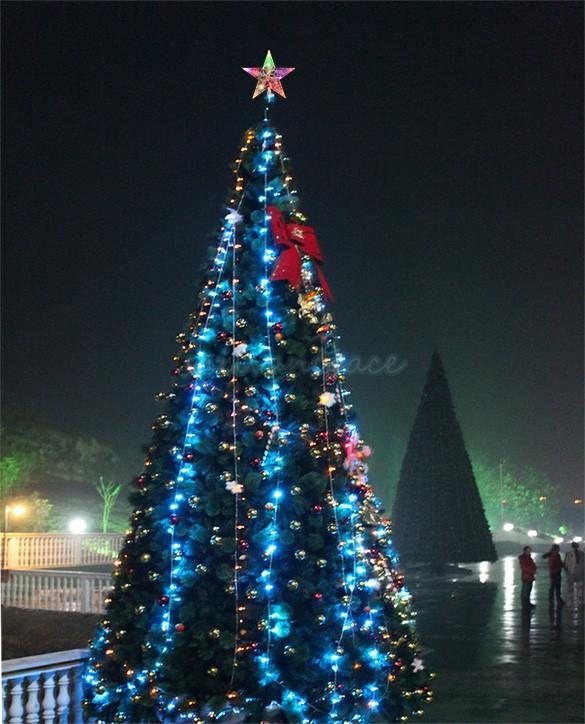 2017 new hot sale led twinkl indoor outdoor christmas tree for Indoor christmas decorations sale