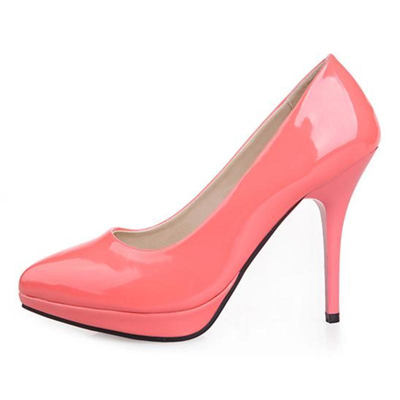 Wholesale Plus Size 34-43 Red Bottom High Heels Shoes Women Pumps ...