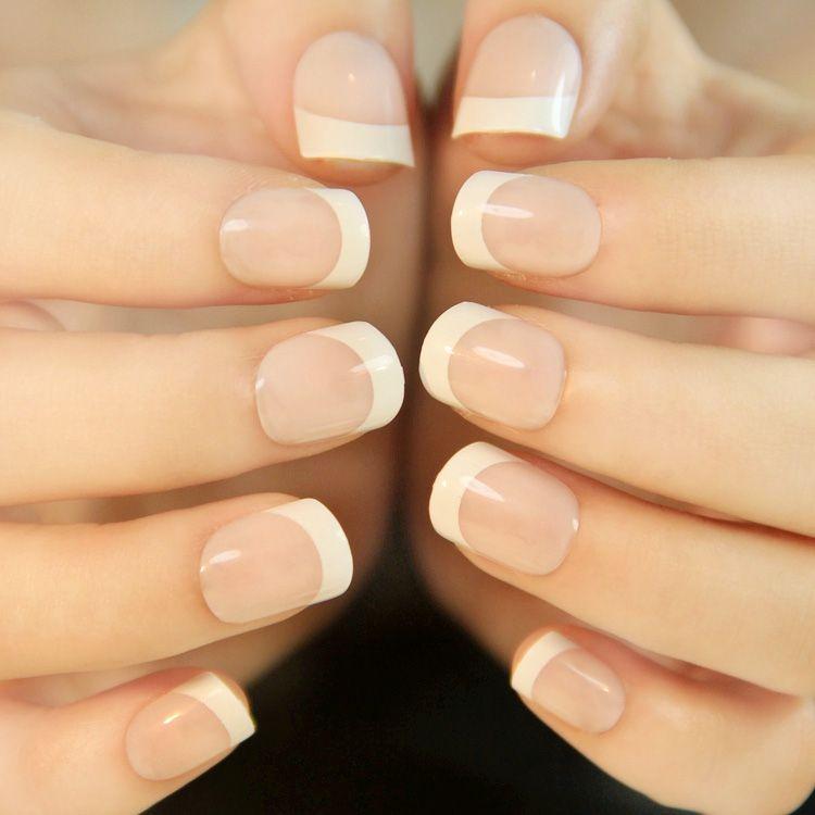 short french false nails newair faux ongles nail tips