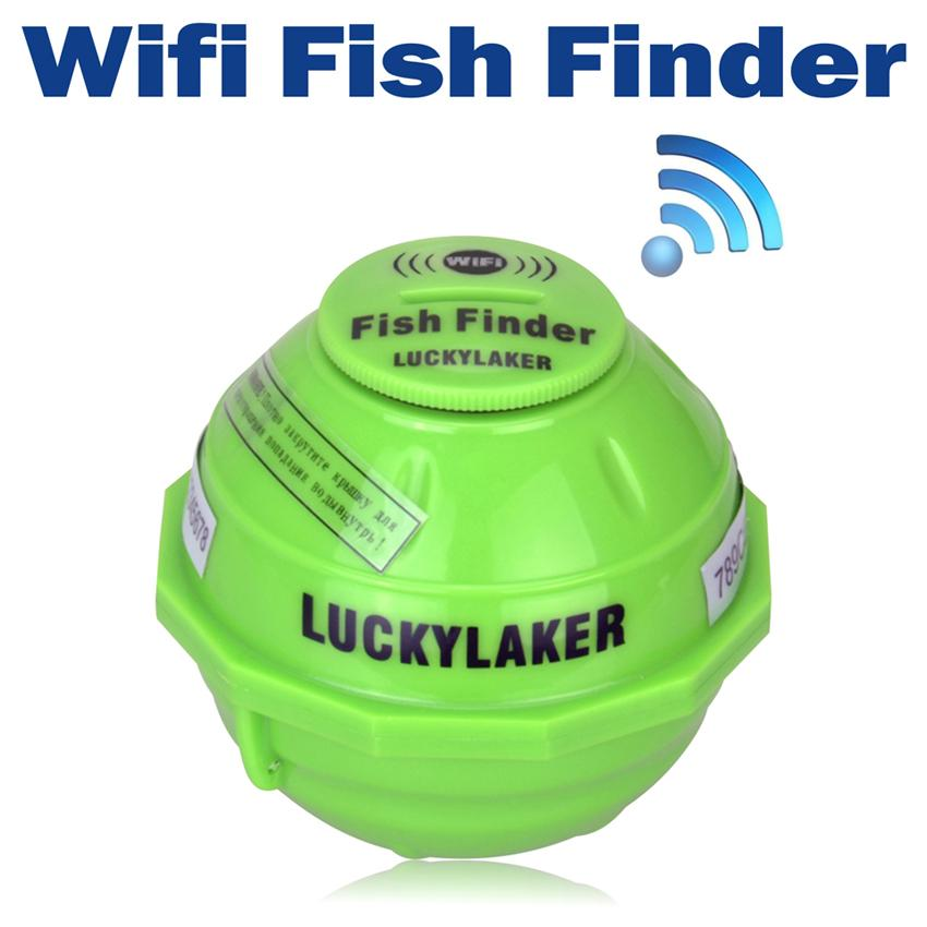wireless wifi sonar fishing finder 50m 130 feet 45m deeper fish, Fish Finder