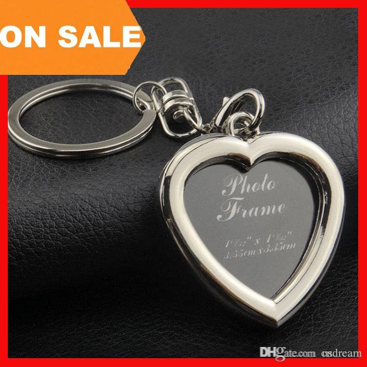 apple keychain. 6 models photo frame keychain alloy locket picture key chain heart apple square rings bag pendants fashion jewelry 240241 keychains -