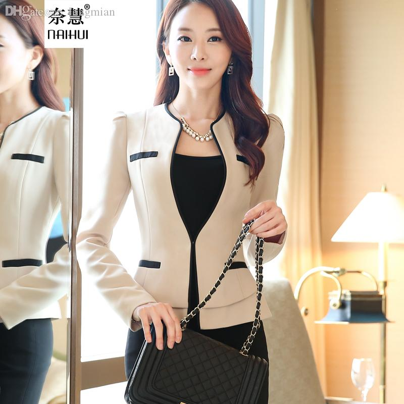 2017 wholesale formal ladies office uniform designs woman for Office uniform design 2016