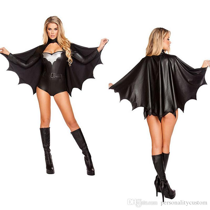 Women Sexy Halloween Costumes feminist halloween costumes popsugar love sex Sexy Halloween Costumes For Women Bitman Cosplay Game Role Paly 2015 New Ployester Long Sleeve Black