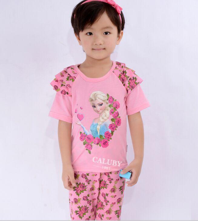 Girl Clothes Child Suit Kids Sleepwear Children Clothing Girls ...