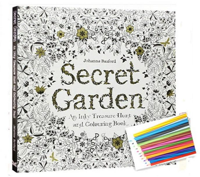 2016 English Version Secret Garden An Inky Treasure Hunt