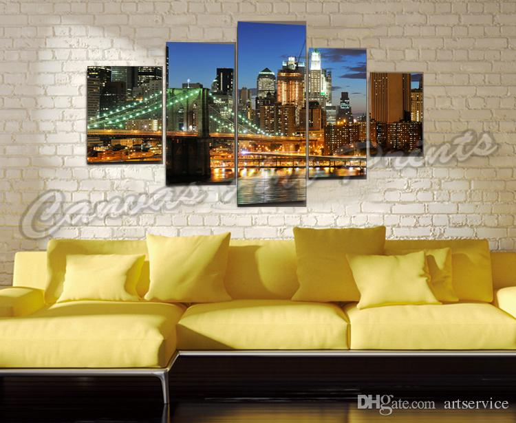 art canvas pictures 5 piece canvas wall art paintings for living room