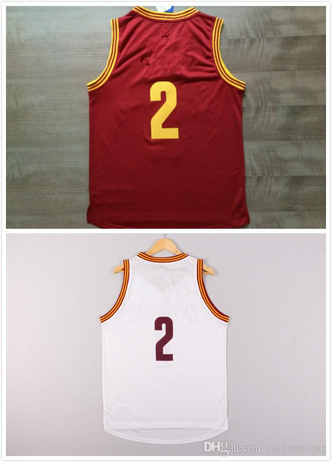 Mens #2 Kyrie Irving Basketball Jersey, Cheap New REV 30 Embroidery Logo Kyrie Irving Basketball Jersey Free fast Shipping