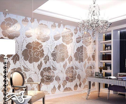 construction tile home decoration wall glass mosaic tile bathroom kitchenroom livingroom wall floors tiles porch lobby design fashion design - Tiles Design For Living Room Wall