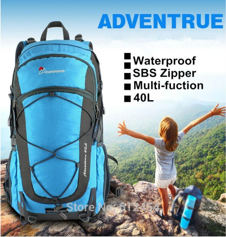 Wholesale 40l Mountaintop Mountain Bag Hiking Backpack Outdoor ...