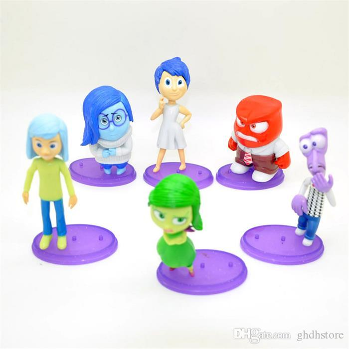 Ems New Arrival Cartoon Movie Inside Out Pvc Figure Toys ...