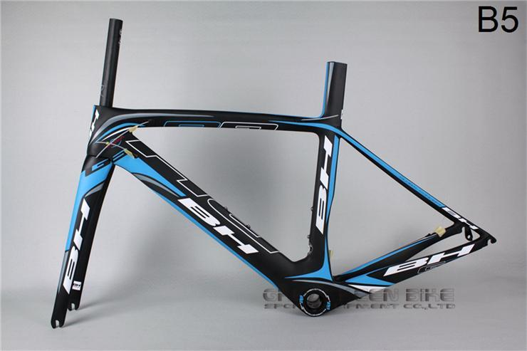 bh g6 b5 sky blue carbon road bike frame light bicycle frame fork cycling bsa bb30 bikes road bike 700c cheap bicycles bmx bike frames bike frame size from