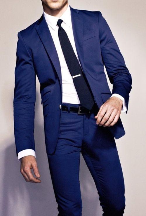 Blue Lapel Groom Suits 2015 Prom Groom Suit Hote Sale Leisure ...