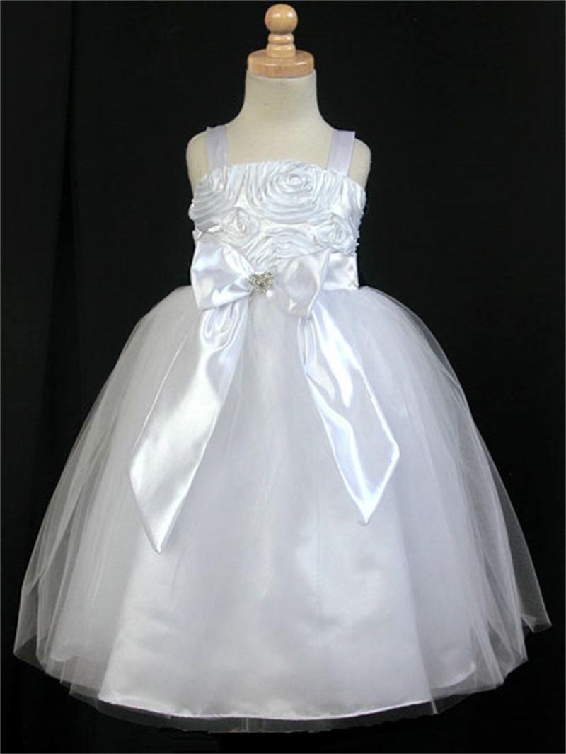 Modest Cheap Flower Girl Dresses Wedding Dresses Asian