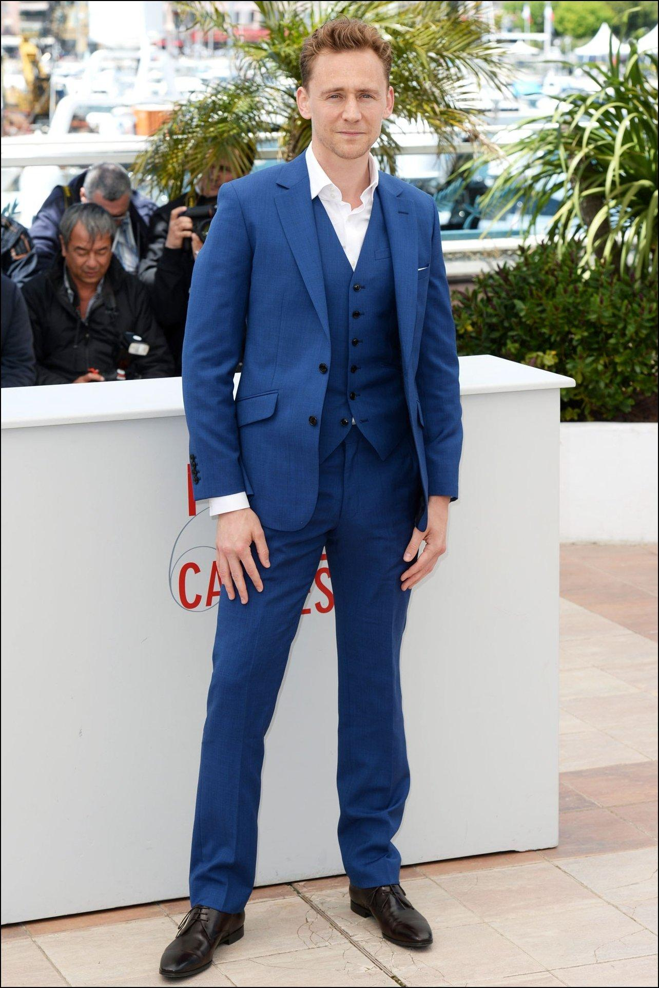 Blue Wedding Suits For Men Red Carpet Men Tuxedos Notched Lapel ...