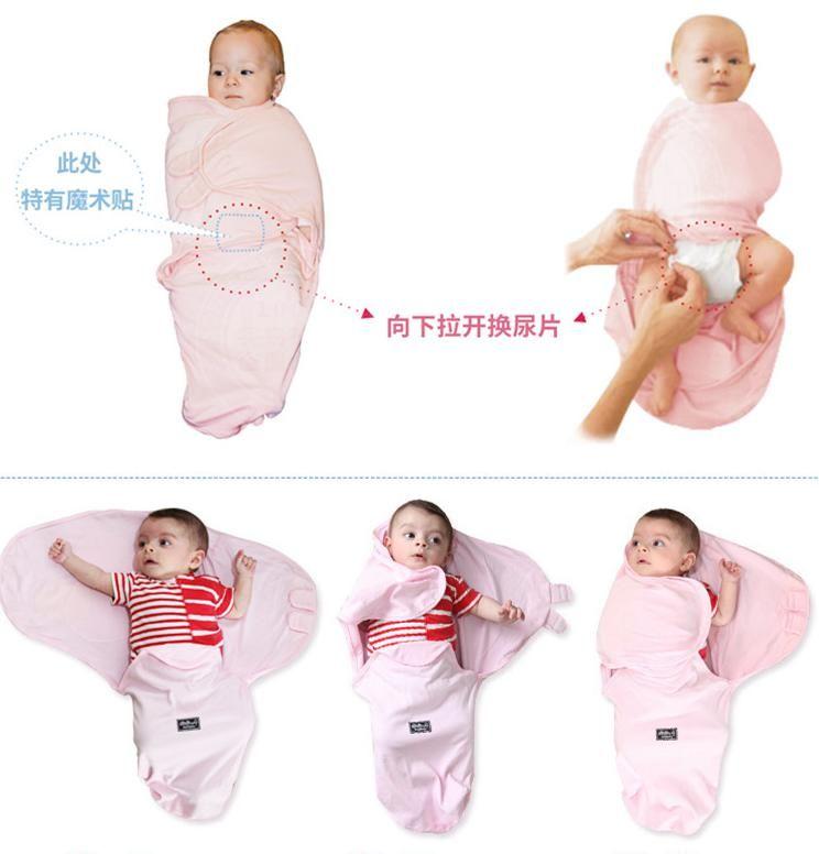 Nwn Newborn Organic Swaddel Kids Bag Baby Clothes Swaddel