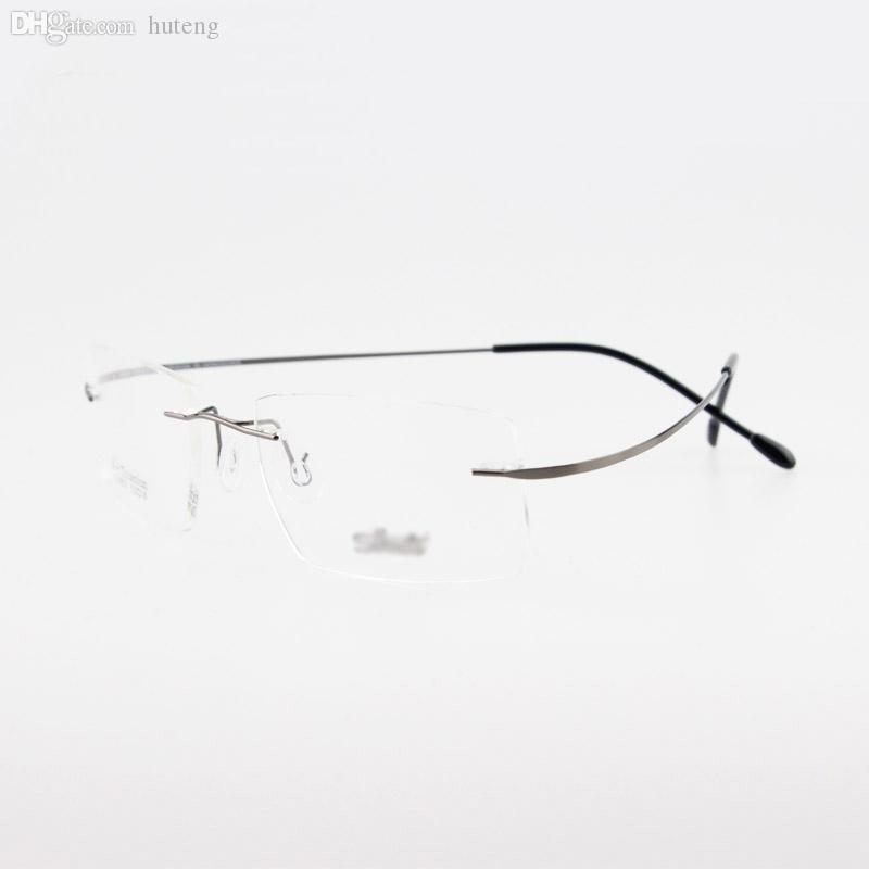 2017 Wholesale Rimless Titanium Glasses Non Screw ...