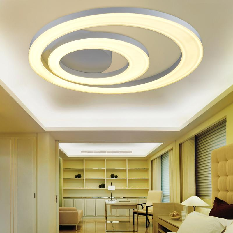 online cheap creative modern led ceiling lights for living. Black Bedroom Furniture Sets. Home Design Ideas