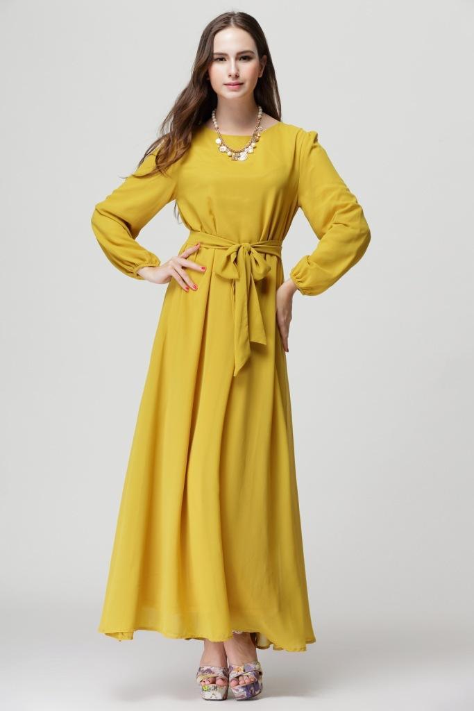 Kaftan style cocktail dress