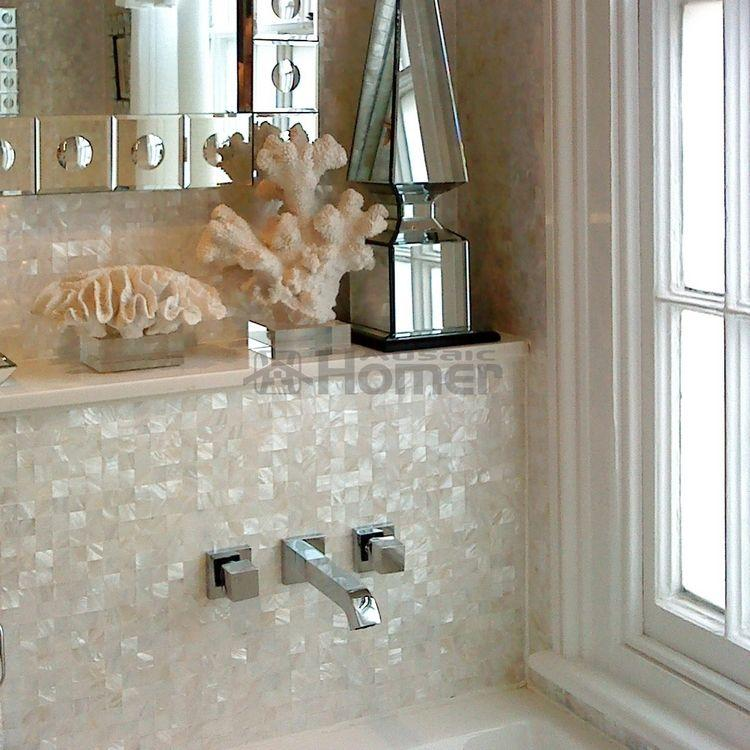 Amazoncom mother of pearl tile backsplash