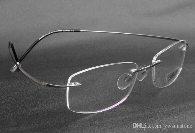 Silhouette Titanium Rimless Optical Glasses Frame No Screw ...