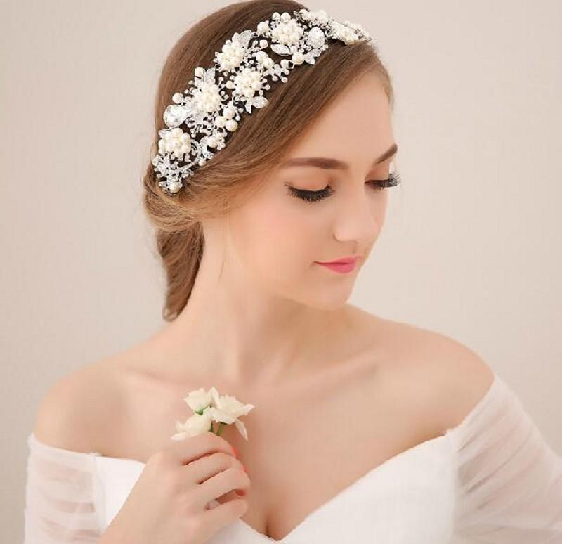 in stock 2015 hot sale cheapwedding bridal hair