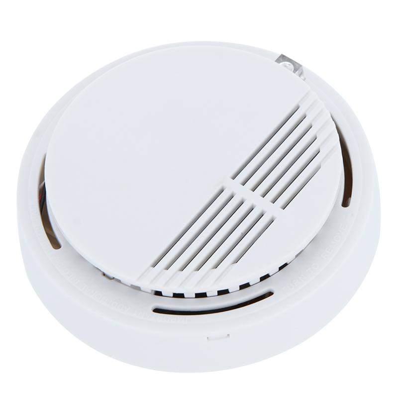 smoke detector alarms system sensor fire alarm detached wireless detectors home security high. Black Bedroom Furniture Sets. Home Design Ideas