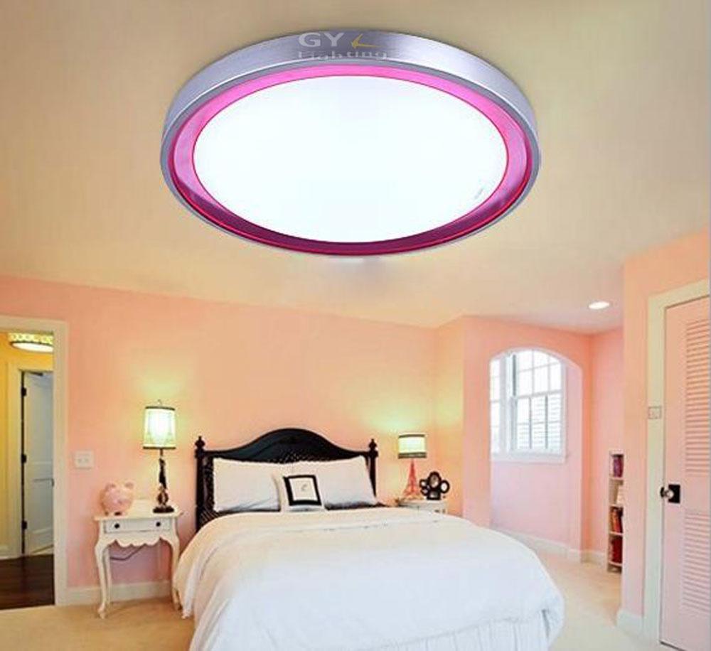 Arcrylic 18w led plafonnier lampe salon lumière moderne restaurant ...