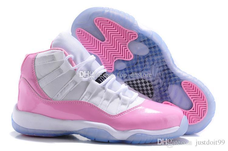 Discount Pink Women Retro 11 Basketball Sneaker Size 36-41 Outdoor ...