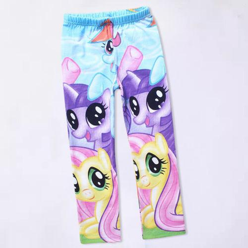 2017 My Little Pony Leggings Kids Girls Clothes Tights ...