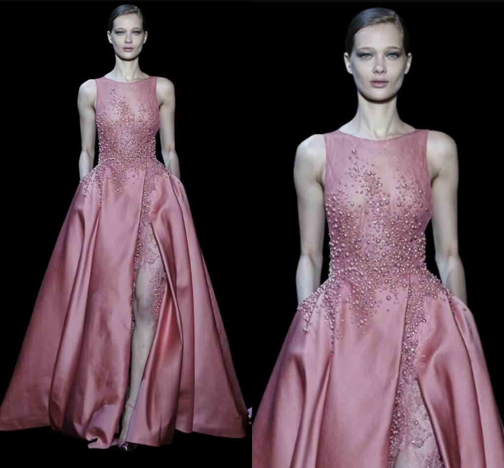 New Sexy Beaded Elegant Elie Saab Prom Dresses Evening ...